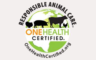 One Health Certified Logo