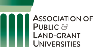 Association of public and land-grand universities logo